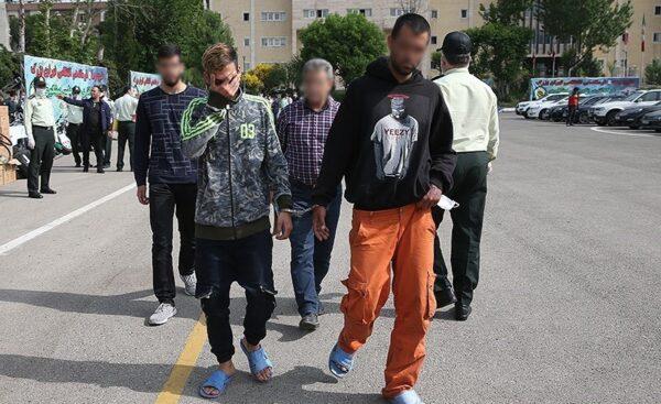 بازداشتی های طرح رعد 35
