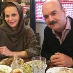 ایرج طهماسب مجری معروف , دختر و دامادش