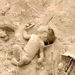 نوزاد تازه متولد شده ایی که اینگونه زنده به گور شد