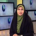 عکس کودکی زهرا سادات خلیلى مجری شبکه خبر به مناسبت تولدش
