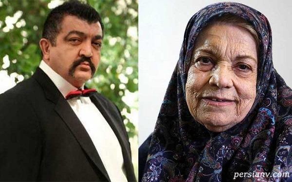 سورپرایز احمد ایراندوست برای مرحوم صدیقه کیانفر