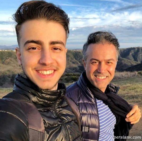 دانیال حکیمی و پسرش دانا