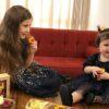 چینی حرف زدن نبات دختر شاهرخ استخری با خواهرش پناه