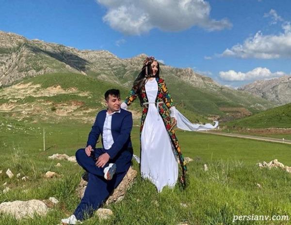 لباس کوردی لیلا سعیدی