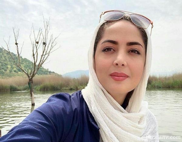 عکس های جدید لیلا سعیدی با لباس زیبا در کنار همسرش