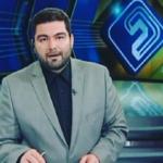 پشت صحنه اخبار ۳۰ : ۲۰ شبکه ۲ ، یازرلو گوینده خبر