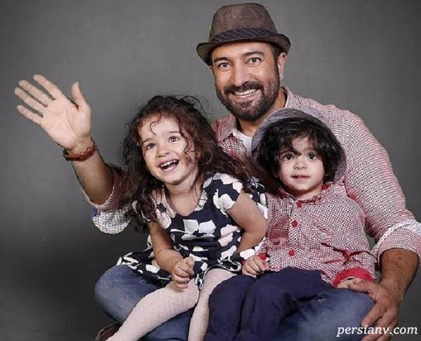 درس خواندن جالب بچه های دوقلو مجید صالحی آروین و حنا