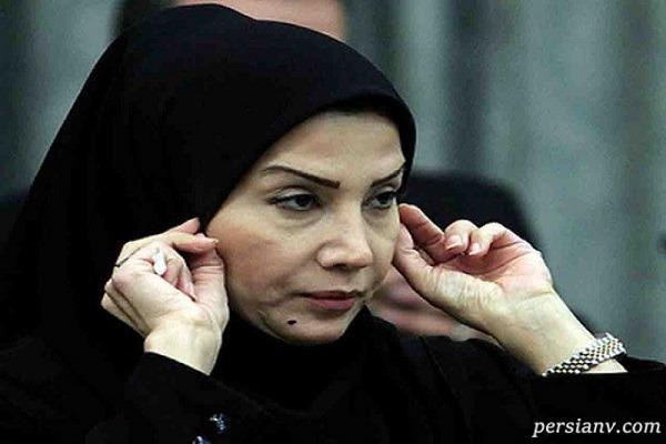تغییر چهره مهناز شیرازی گوینده سابق خبر در صفحه خانم مجری