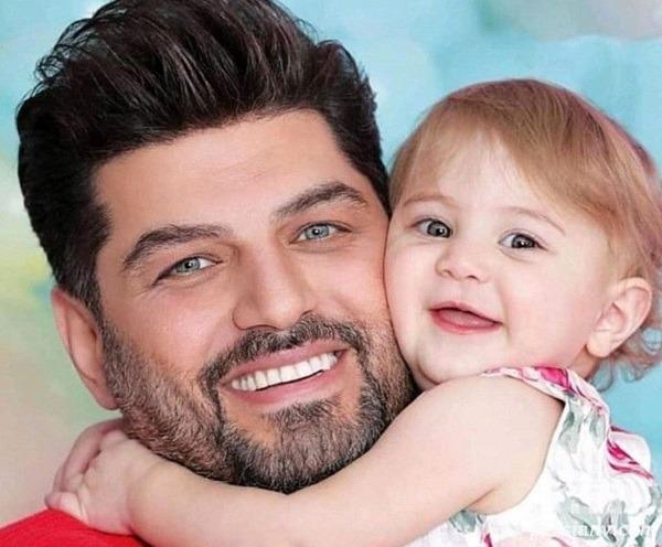 تولد برکه دختر سام درخشانی و متن عاشقانه پدر