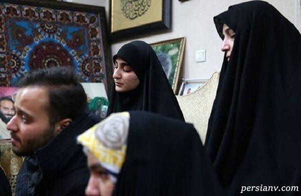 خبر ازدواج دختر شهید سلیمانی در اینستاگرام خواهر عماد مغنیه