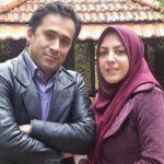 داود عابدی همسر المیرا شریفی مقدم مجری شبکه خبر و مادرش