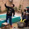 رقص علی صبوری با لباس زنانه در سریال آخر خط