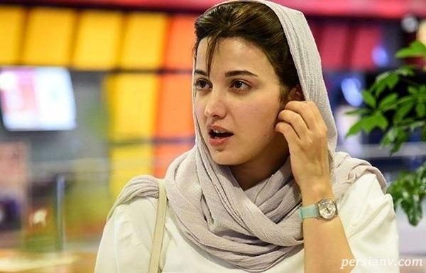 روشنک گرامی بازیگر نیکی سریال هم گناه بدون آرایش و گریم