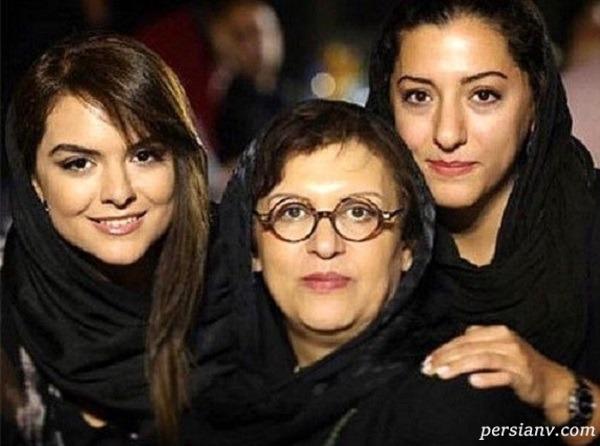 رویا تیموریان بازیگر سریال هم گناه و دخترش دنیا مدنی
