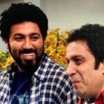 عباس جمشیدی فر بازیگر سریال آخر خط و همسرش