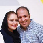علی اوجی همسر نرگس محمدی در ماشین لاکچرای اش