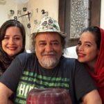 ملیکا شریفی نیا با انتشار عکسی تولد محمدرضا شریفی نیا ,پدرش را تبریک گفت