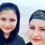 عکس جدید سارا و نیکا فرقانی دو قلوهای پایتخت در فروشگاه جاده شمال