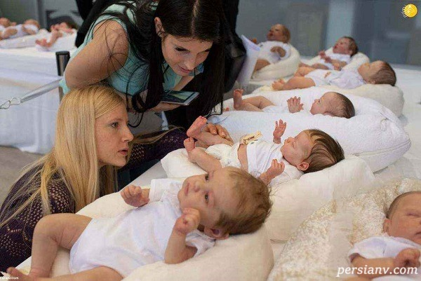 بازار داغ عروسک های طبیعی شبیه نوزاد که تازه متولد شده اند!
