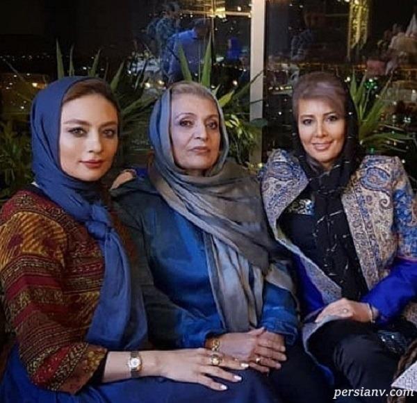 مادر یکتا ناصر | عکسی از یکتا ناصر در کنا رمادر و خواهرش و شباهت آنها