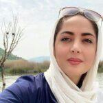 اسب سواری لیلا سعیدی مجری و بازیگر تلویزیون