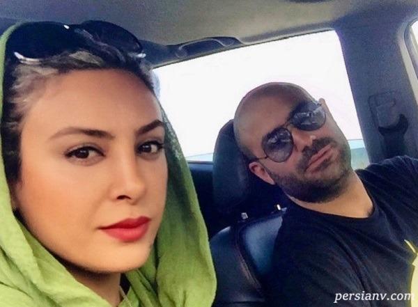 مادر حدیثه تهرانی در کنار دخترش با ست زیبای لباسشان