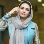 لیندا کیانی بازیگر سریال مانکن و مادرش در حرم امام رضا