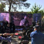 مراسم تشییع محمد علی کشاورز در قطعه هنرمندان