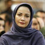 نسرین نصرتی فهیمه پایتخت و همسرش در اکران فیلم