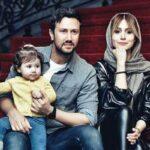 پدر و مادر سپیده بزمی پور همسر شاهرخ استخری در ایران