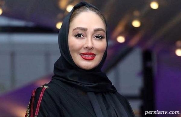 تولد بچه الهام حمیدی بازیگر ایرانی