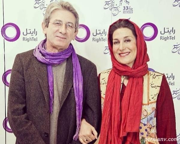 جشن تولد احمد حامد همسر هنرمند فاطمه معتمد آریا بازیگر