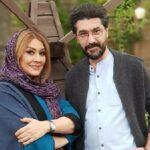 تولد امیرحسین مدرس مجری در کنار همسر و پسر بزرگش
