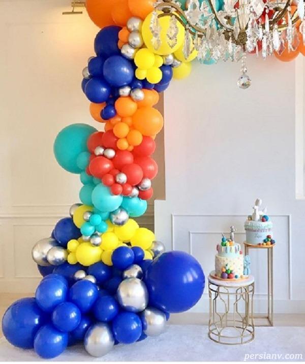 تولد پسر رضا قوچان نژاد