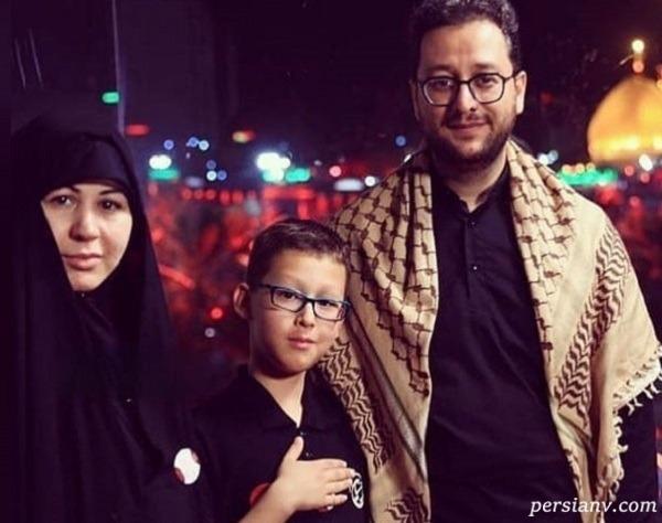 سید بشیر حسینی و همسرش