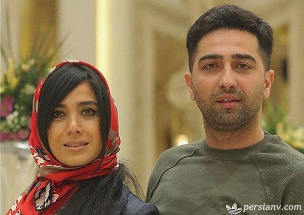 تصویری از مراسم عقد علی سخنگو بازیگر سریال دل و همسرش