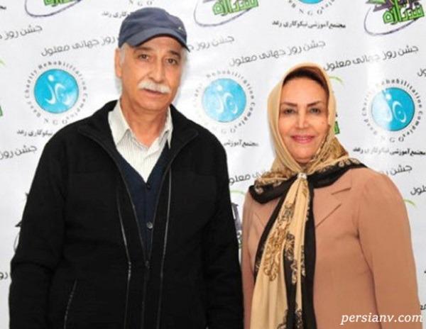 محمود پاکنیت و همسرش مهوش صبرکن و پسرش