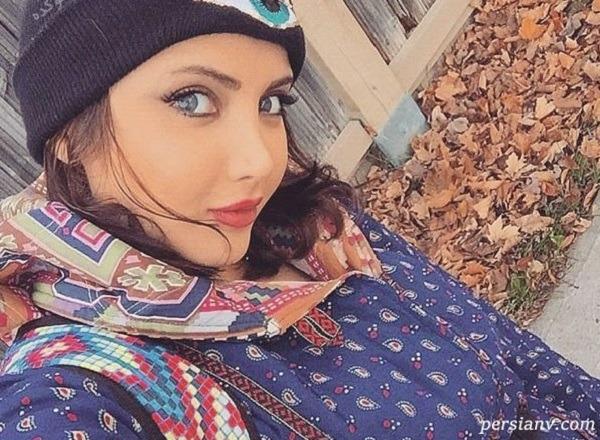 رابطه نهال سلطانی مدل زیبای ایرانی با بازیگر مرد معروف