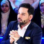 عیادت احسان علیخانی مجری عصر جدید از شرکت کننده آسیب دیده