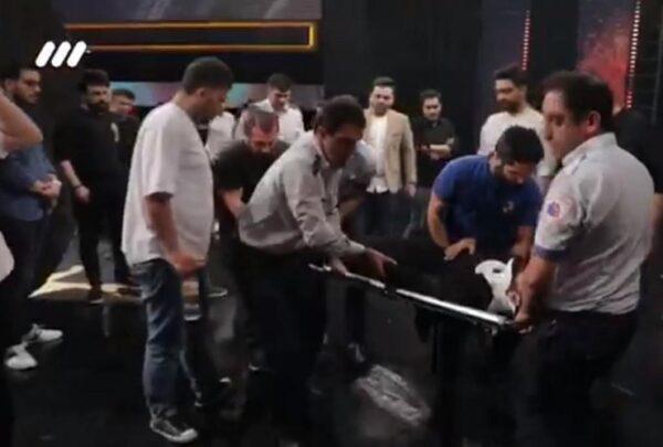 عیادت احسان علیخانی مجری