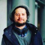 سفر خارج علی صادقی بازیگر با تیپ و قیافه عجیب