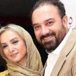 عکس عروسی برزو ارجمند و همسرش پارمیس زند ۱۷ سال پیش