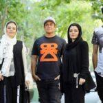 بهرام افشاری و رضا گلزار در پشت صحنه فیلم رحمان ۱۴۰۰