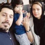 تبریک تولد احسان خواجه امیری برای همسرش لیلا ربانی