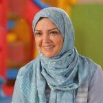 جشن تولد الهه رضایی مجری محبوب دهه شصت با یک کیک خاص