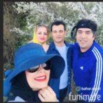 خداحافظی محمد راد برادر صبا راد با خواهرش بعد از مهاجرت