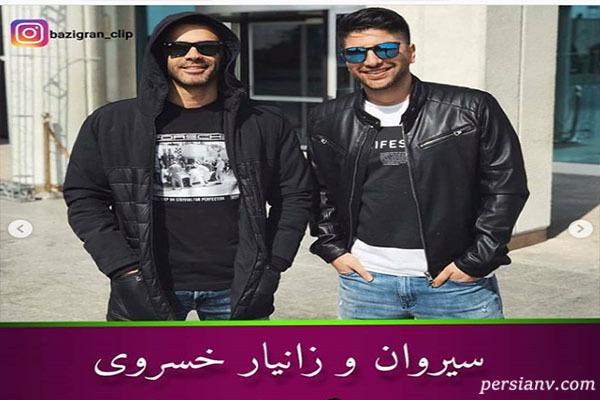 برادران هنرمند ایرانی از برادران قاسم خانی تا برادران خسروی