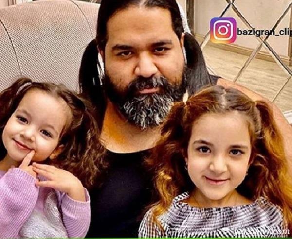 رضا صادقی و دخترانش