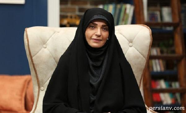 دختر با حجاب و زیبای راحله امینیان مجری تلویزیون