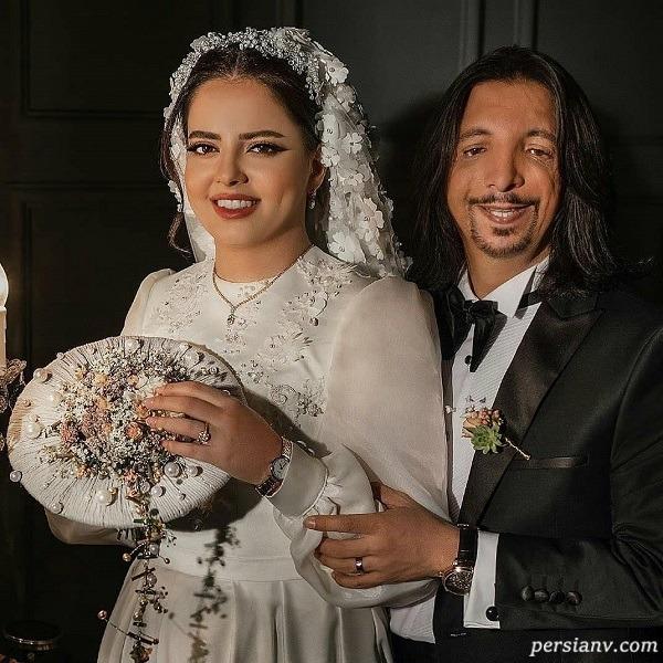 عکس عروسی فرهاد ایرانی